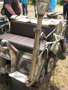 Sd.Kfz. 2 – Kettenkrad at the Normandy 70th Anniversary of D-Day- Dog Green Camp at Omaha Beach -2014