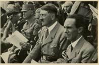 Germany Awakes. Group #32. Picture #147: German Gymnastics Festival, Stuttgart, 1933. (At right: Joseph Goebbels)