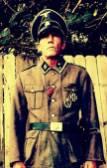 Kevin Muir Crane reenactment impression - Waffen SS-Oberscharfuhrer 9th Hohenstaufen Division.