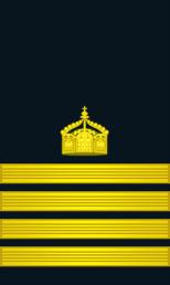 Kapitän zur See - Captain at Sea.