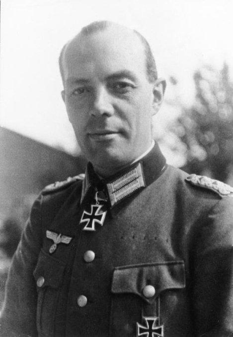 Rudolf Christoph Freiherr von Gersdorff as Oberst im Generalstab.
