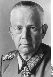 von Reichenau as a Field Marshal.