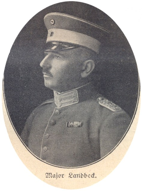 Major with Kragenpatten, ca. 1918