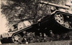 Stug and Hummel.