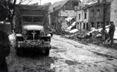 Street in front of the great mills 1945