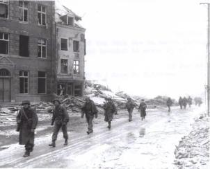 Chemin rue - Maison Villers 1944