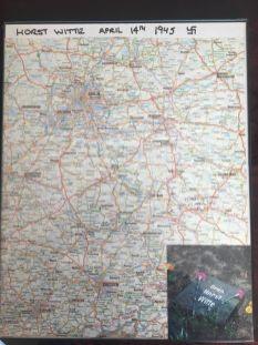 Map of Dobern, Germany.