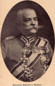 George von Wurmb's Grandfather General Magnus von Eberhardt