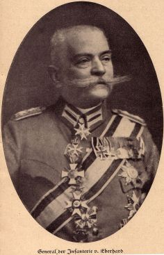 George von Wurmb's Grandfather General Magnus von Eberhardt