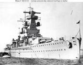 Heavy cruiser Admiral Graf Spee.