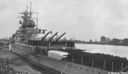 The Admiral Graf Spee and her brave crew
