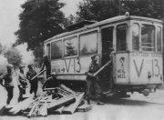 Aachen tram, 1944.