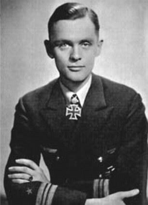 Reinhard Hardegen during the war.