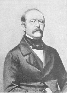 Bismarck at 48, 1863.