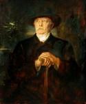 Lenbach painting of Bismarck in retirement (1895).
