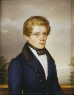 Bismarck at 21, 1836.