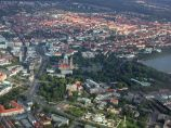 Hannover from sky.