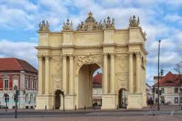 Potsdam's Brandenburg Gate.