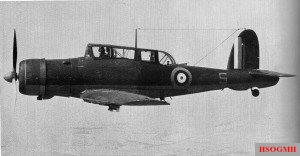 A British Blackburn Skua