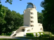 The Einstein Tower was built in 1921 to house research on the theory of relativity.