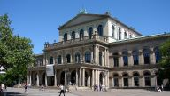 "The Staatsoper Hanover (""state opera"") is housed in its classical 19th century opera house."