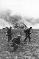 Grossdeutschland Regiment (Prior to forming the famous division) soldiers during the Operation Barbarossa, 1941.