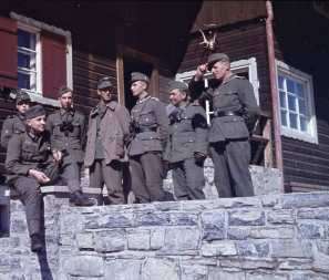 Gebirgsjäger in their spare time.