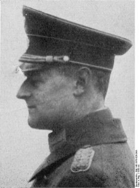 Generalleutnant Walter Wever Juni 1936 in Dresden.