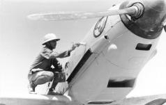 New paint for a Messerschmitt Bf 109 E-4 of Jagdgeschwader 27.
