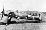 Armin Faber's Focke-Wulf Fw 190A-3 of 11/JG 2 after landing in the UK by mistake in June 1942.