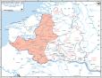 German advances during the Battle of Belgium.