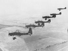 Ju 87 Bs over Poland, September–October 1939.