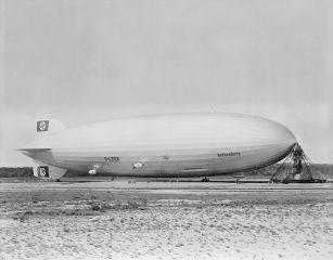 Hindenburg at NAS Lakehurst.