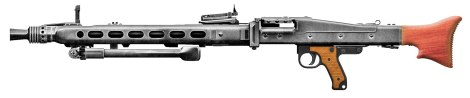 MG 42 with bipod retracted.