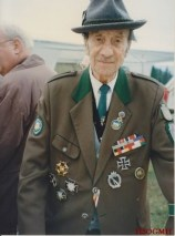 Corporal Johann Schuller, veteran of the Gebirgsjäger-Regiment 137, participant of the hard battles around Narvik and Lapland.