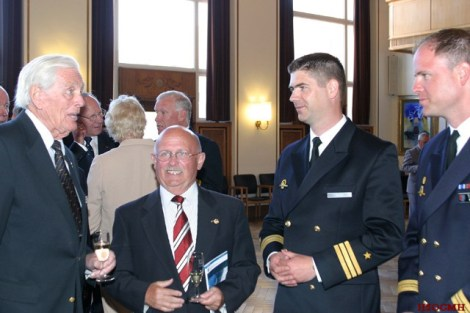 Reinhard Hardegen and other modern day naval officers.