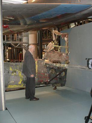 Deutsches Technikmuseum, with a veteran gunner speaking of his combat in North Africa.