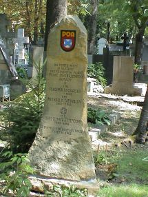 Mass grave of two generals and 187 unknown ROA soldiers, Olšanské hřbitovy cemetery in Prague.