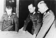 Model, Rundstedt and Krebs, November 1944.