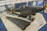 The Ju 87 at the RAF Museum, London, with its wing outer sections temporarily detached, May 2016.