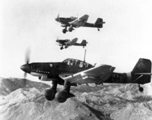 Ju 87Ds in October 1943.