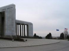 The Mardasson Memorial near Bastogne, Belgium.