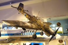 Ju 87 R-2/Trop 5954 at the Museum of Science and Industry, Chicago 2014.