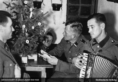 "The first Christmas of the SS Volunteer Division ""Prinz Eugen""."