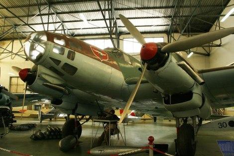 The oldest survivor: He 111 E-3.