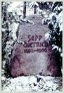 Gravestone of Sepp Dietrich in Ludwigsburg.