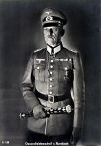 Gerd von Rundstedt postcard.