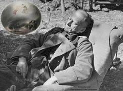 Erwin Koopmann takes an afternoon nap.