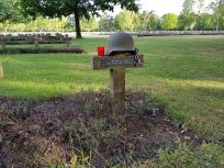 The grave of Friedrich Alpers, War Cemetery Lommel.