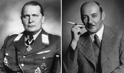 Brothers Hermann and Albert Göring.